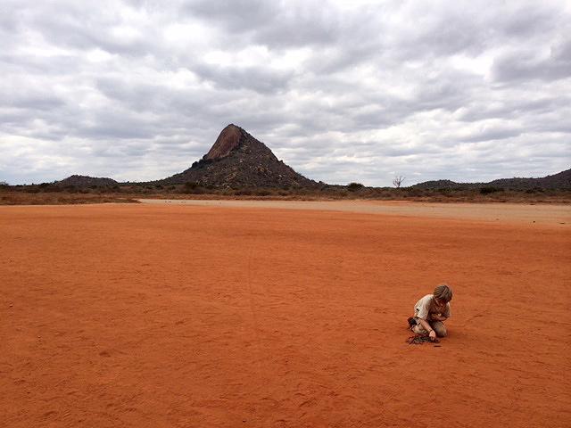 Christ and Wilkinson in Tsavo Kenya 2014