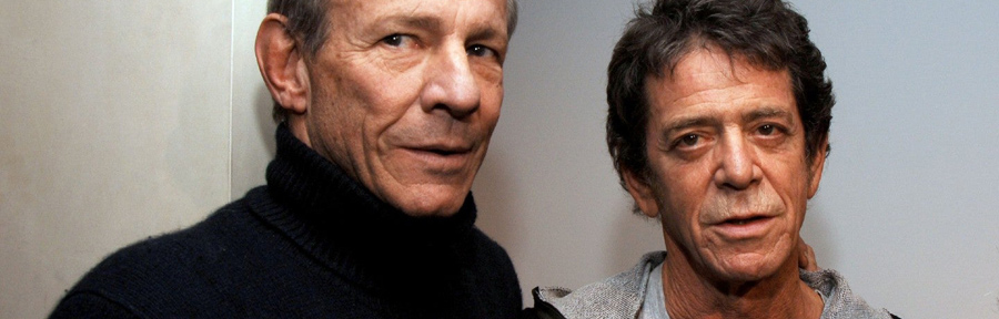 Peter Beard with Lou Reed by Getty Images