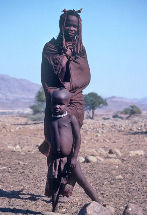 Ova-Himba Mother & Child-Christo & Wilkinson Photography