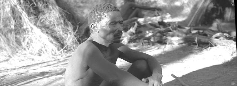 Bushman from Kalahari Desert - Cyril Christo
